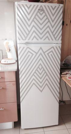 Deco de frigo masking tape
