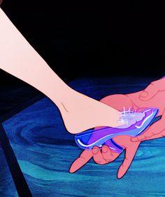 Glass slipper (Cinderella)
