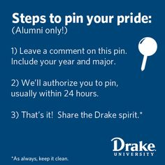My school is cool! They have a board just for alumni to pin stuff too!