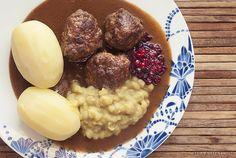 Oldemor Kirstens kjøttkaker med den perfekte brune sausen | Millas Mat