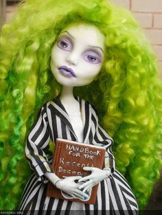 monster high custom beetlejuice