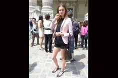 [PARÍS] Nos enamoramos de este blazer rosado!!. Foto:Agustina Garay Schang
