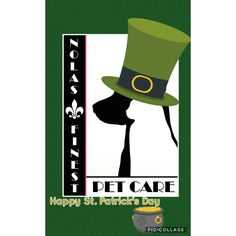 Happy St. Patrick's Day   nolasfinestpets.com Pet Home, Pets, Happy, Fictional Characters, Ser Feliz, Fantasy Characters, Animals And Pets, Being Happy