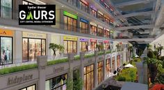 Gaur Sadar Bazaar is being built to serve the unique and exclusive shopping experience of all residents of greater Noida West.