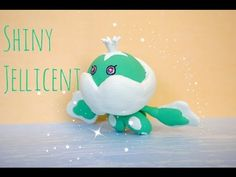 Pokémon polymer clay shiny Jellicent tutorial