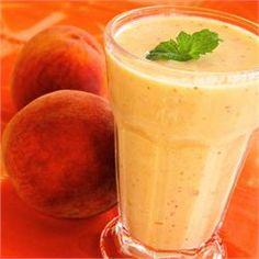 Georgia Peach Smoothie - Allrecipes.com