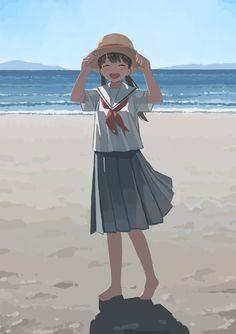 Anime Girl Drawings, Anime Art Girl, Comic Manga, Sailor Moon Wallpaper, Anime Scenery Wallpaper, Amazing Drawings, Environment Concept Art, Animes Wallpapers, Aesthetic Art