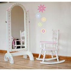 Teamson Kids Girls Standing Mirror - Bouquet Room Collection by Teamson, http://www.amazon.com/dp/B001I902VE/ref=cm_sw_r_pi_dp_wteasb1BHJN7V