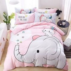 Boho Chic Bedding Sets With More Cover Up 32 - athomebyte Cute Duvet Covers, Bed Covers, Duvet Cover Sets, Toddler Girl Bedding Sets, Girls Bedding Sets, Chic Bedding, Luxury Bedding, Dorm Bedding, Girl Bedroom Designs