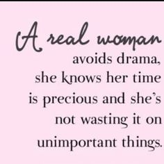 A real woman... well-said