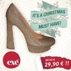 Unos #tacones elegantes para tus cenas esta #Navidad. IMPRESCINDIBLES ♡