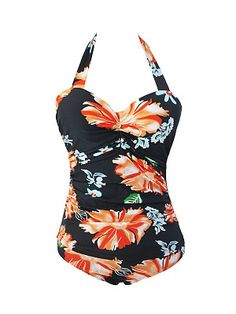 Sexy Style Halter Backless Floral Printed Plus Size One Piece Find latest women's clothing, dresses, tops, outerwear, and other fashion clothing and enjoy the worldwide shipping # Sexy Outfits, Trendy Outfits, Fashion Outfits, Fashion Trends, Plus Size One Piece, Latest Fashion Clothes, Cheap Fashion, Trendy Fashion, Buy Dresses Online