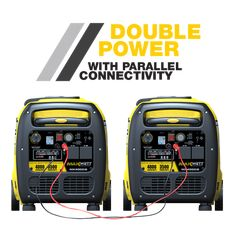 Inverter Generator, Portable Generator, Domestic Appliances, Fuel Efficiency, Sine Wave, Safety Switch, 4 In 1, Thing 1 Thing 2