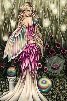 Cryatal Fairy ~ Jessica Galbreth Fairy Dust, Fairy Land, Fairy Tales, Forest Fairy, Magical Creatures, Fantasy Creatures, Kobold, Fairy Pictures, Beautiful Fairies