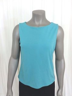 Brooks Brothers sleeveless knit top women's size M #BrooksBrothers #Tank #Casual