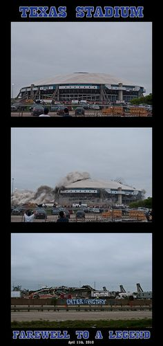 Texas Stadium Implosion