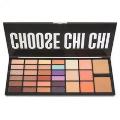 Limited edition face palette containing 24 Glamorous Eyeshadow shades, 2 Bronzer shades, 3 Blush shades + 3 Highlighter shades. Mascara, Eyeliner, Eyeshadow, Xmas Wishes, Makeup Shop, Chi Chi, Top Gifts, Professional Makeup, Lip Liner