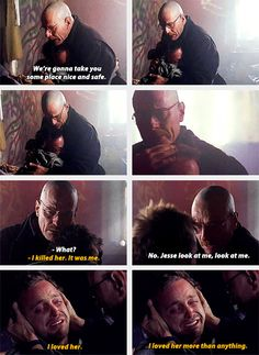 When Walt was the only family Jesse had left. 29 Walt And Jesse Moments That Made You Laugh, Cry, Or Probably Both Breaking Bad Funny, Breaking Bad Quotes, Breaking Bad Series, Breaking Bad Jesse, Jesse Pinkman, Series Movies, Tv Series, Breking Bad, Walter White