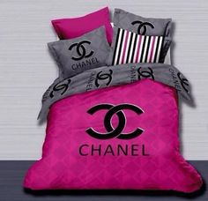 Chanel 4 Piece Bed Set.  http://www.fierceheelsemporium.com.au/collections/bed-throws-blankets/products/chanel-4-piece-bed-set