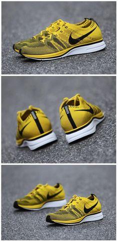 the best attitude 25c61 23647 Nike Flyknit Trainer  Bright Citron