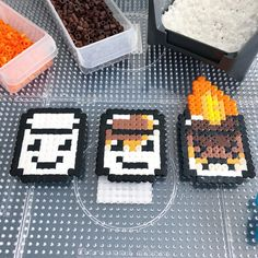 15 Best Fun Perler Beads Designs Easy To Get Started Easy Perler Bead Patterns, Melty Bead Patterns, Perler Bead Templates, Diy Perler Beads, Perler Bead Art, Beading Patterns, Loom Patterns, Jewelry Patterns, Melty Beads Ideas