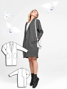 Coat at burdastyle 08/2014