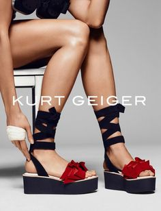 Kurt Geiger taps Karlie Kloss to star in their S/S 2016 ad campaign shot by Erik Torstensson
