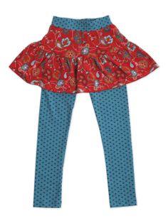 Calza con falda