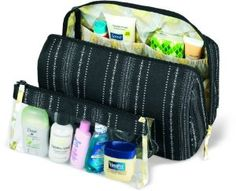 Dakine 5-Litre Prima Pack (Vienna, 11 x 7 x 5-Inch):Amazon:Sports & Outdoors my current makeup bag is lined black which means I can't find anything! I like all the pockets in this.