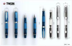 TWSBI mini fountain pens!