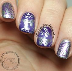 Video Tutorial - Gradient and Butterfly - Stamping Nail Art