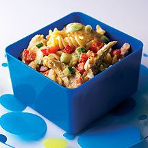 Lunchbox Chicken Curry Pasta