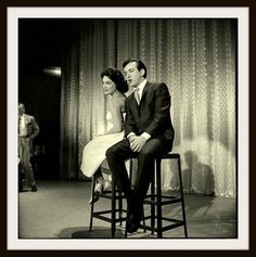 Connie Francis & Bobby Darin performing on The Ed Sullivan Show