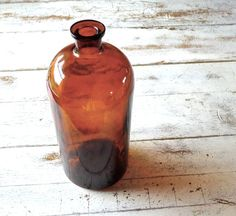 For Sara  Gallon Size Amber Apothecary Jar by marybethhale on Etsy (Home & Living, Home Décor, Vases, amber, one gallon, apothecary jar, medical, pharmacy, industrial, urban rustic, victorian home, farmhouse, huge bottle, science laboratory, vestiesteam tvat, teamvam epsteam)