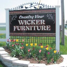 Find The Largest Selection of Wicker Furniture at Country View Wicker Cushions To Make, Amish Country, Sunbrella Fabric, Wicker Furniture, The Selection, Ohio, Outdoor Living, Blog, Rattan Furniture