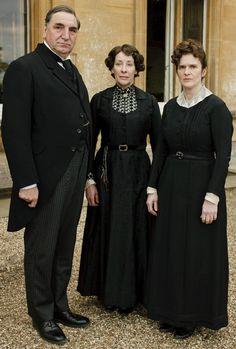 Downton Abbey - Carson, Mrs. Hughes, O'Brien