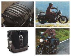SW-MOTECH Legend Gear LS2 Saddlebag with Saddle Support Strap - Motorcycle Luggage