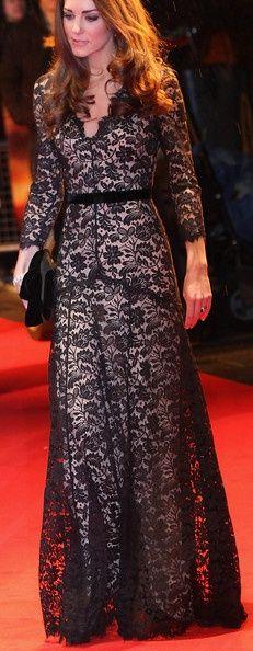 Kate Middleton Evening Dress