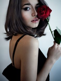 """""""All I request is a single rose."""""""