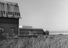 Campus in 1963: The Old Barn, Kennedy, Macy - by UNC Charlotte - Stake Your Claim, via Flickr