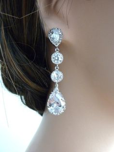 Hey, I found this really awesome Etsy listing at http://www.etsy.com/listing/101099657/wedding-earrings-bridal-earrings-clear