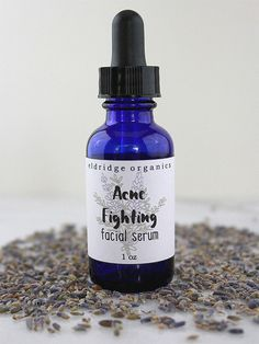 Organic Acne Fighting Facial Serum  Organic by EldridgeOrganics