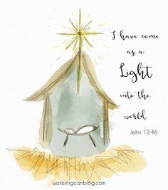 Painted Christmas Cards, Watercolor Christmas Cards, Diy Christmas Cards, Christmas Nativity, Christmas Drawing, Watercolor Cards, Xmas Cards, Christmas Art, Christmas Printables