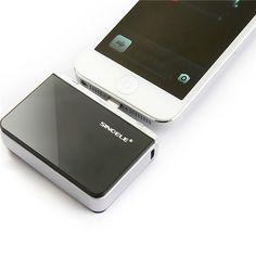 iPhone5 USB emergency battery 2200mAH Black - New Arrivals- - TopBuy.com.au