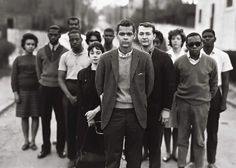 The Freedom Riders Coordinating Committee was established in Atlanta, Ga (May 26, 1963). A face you might recognize (from his younger days)  that was a member of that committee was Julian Bond.