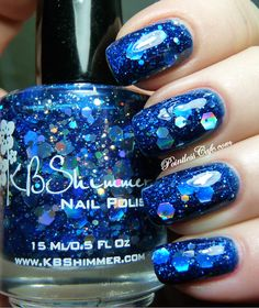 KBShimmer Spring Collection 2013 - I GOT A CRUSH ON BLUE | Pointless Cafe