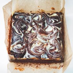 Cheesecake brownies - a swirly blend of all things naughty (and nice). See the full recipe at www.redonline.co.uk.
