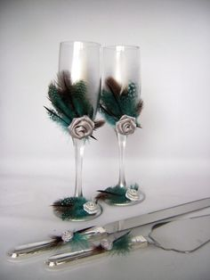 Inspiring Wedding Décor With Feathers | Decozilla