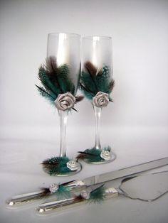Inspiring Wedding Décor With Feathers | Decozilla