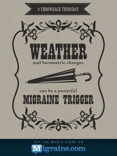 Migraine Triggers: The Power of WeatherStay Strong! Axon Optics Lenses reduce the severity and frequency of migraines, blepharospasm, and other conditions.If you have light sensitivity,there is a 90% chance these will help you.Save $8.33 for reading me @ axonoptics.com,use this coupon code as written: pinme833